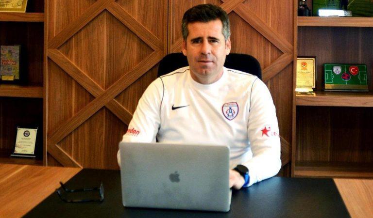 """Altınordu Teknik Direktörü Hüseyin Eroğlu: """"Play-off finalinde Altay favori görünüyor ama…"""""""