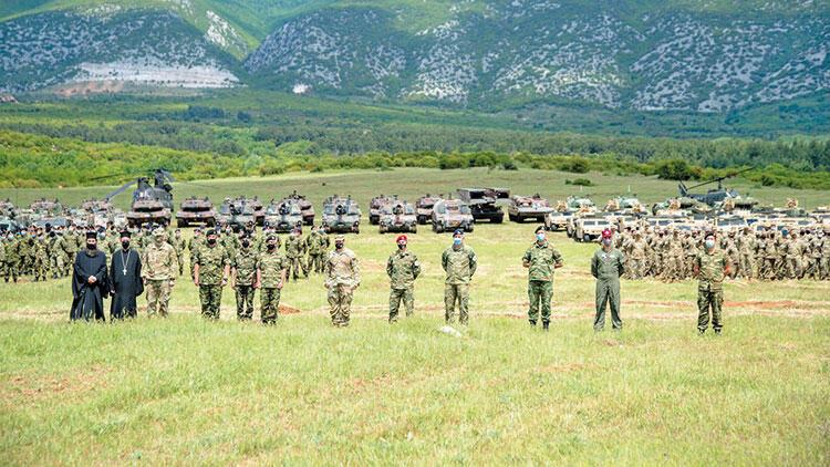 Batı Trakya'da papazlı tatbikat! Yunan ve ABD ordusu İskeçe'de eğitim yaptı