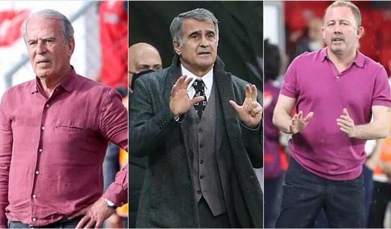 Beşiktaş yerli teknik adamlarla 4. kez şampiyon oldu! Mustafa Denizli, Şenol Güneş, Sergen Yalçın…