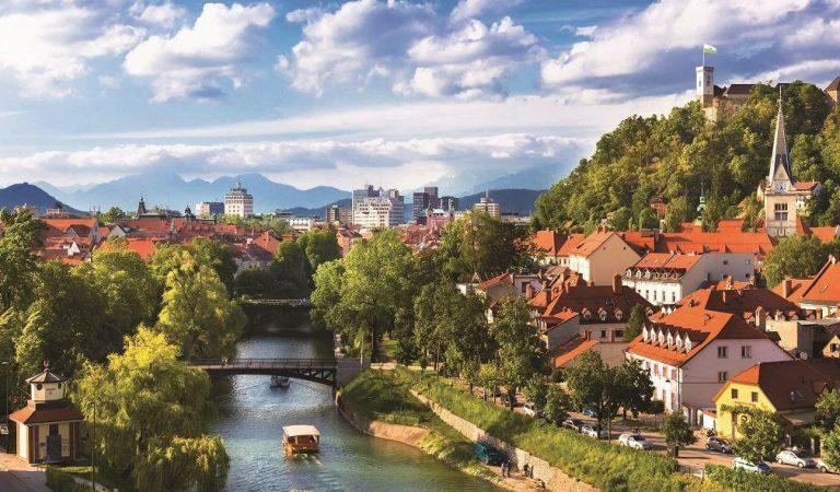 Bir doğa harikası Slovenya