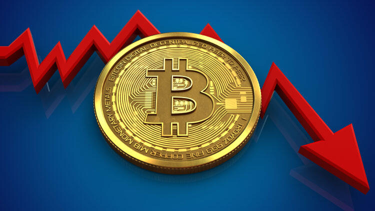 Bitcoin 7500 doların altında