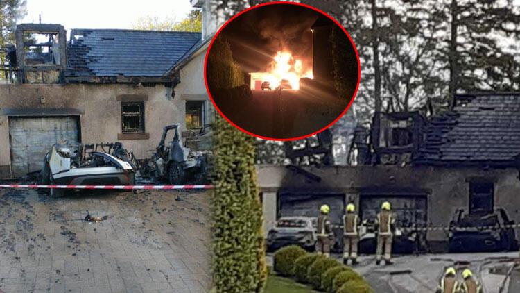 Celtic CEO'su Peter Lawwell'in meskenine molotof kokteylli saldırı! Ailesi uyurken ateşe verdiler…
