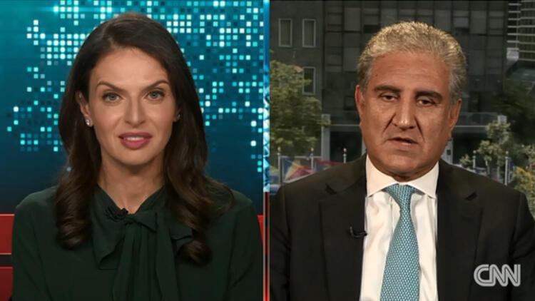 CNN yayınında Filistin kavgası… Pakistanlı bakan: 'Dengeyi siz sağlayın!'