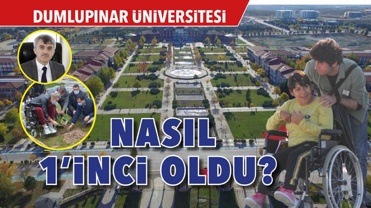 Dumlupınar Üniversitesi nasıl 1'inci oldu?