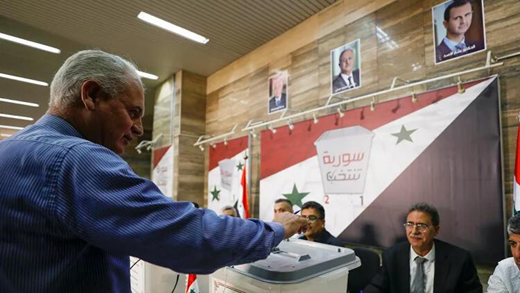 Esad rejimi, halkın çoğunluğunun dahil edilmediği sözde devlet başkanlığı seçimine gitti