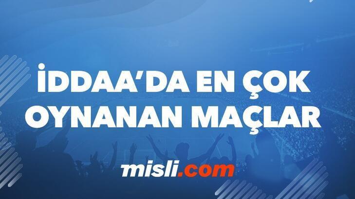 Günün En Çok Oynanan İddaa Maçları (11 Mayıs 2021)