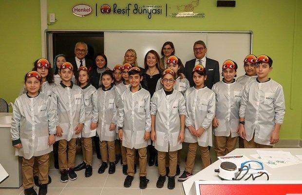 Henkel, Keşif Dünyası projesi ile yaratıcı çocukları keşfe çağırıyor