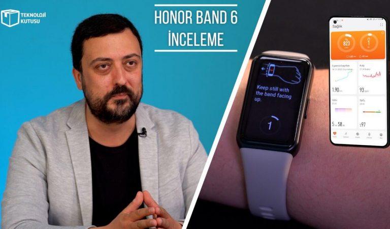 Honor Band 6 incelemesi