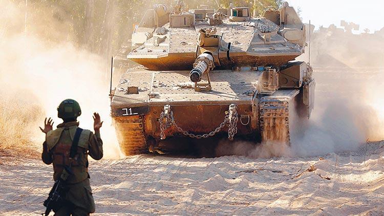 İsrail savaş cürmü işliyor