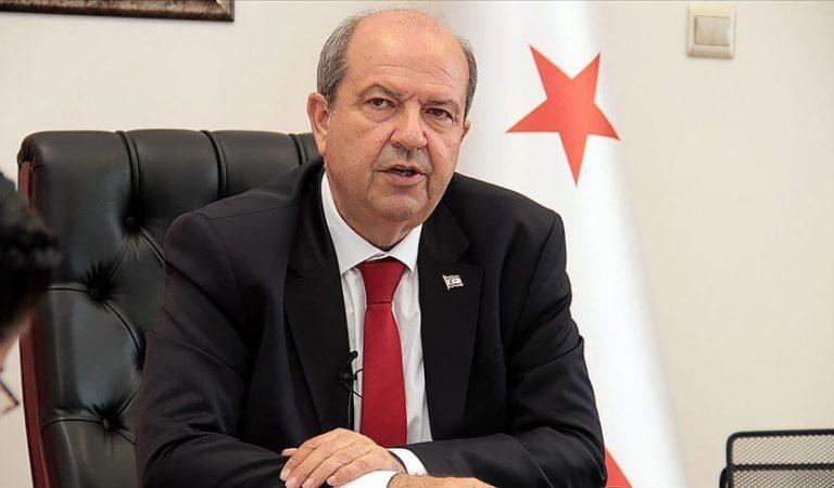 """KKTC Cumhurbaşkanı Tatar: """"AB'nin Kıbrıs konusunda izlediği yanlı tutum endişe verici"""""""