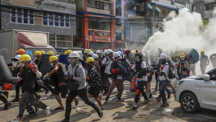 Myanmar'da çatışmalar şiddetlendi: 6 ölü