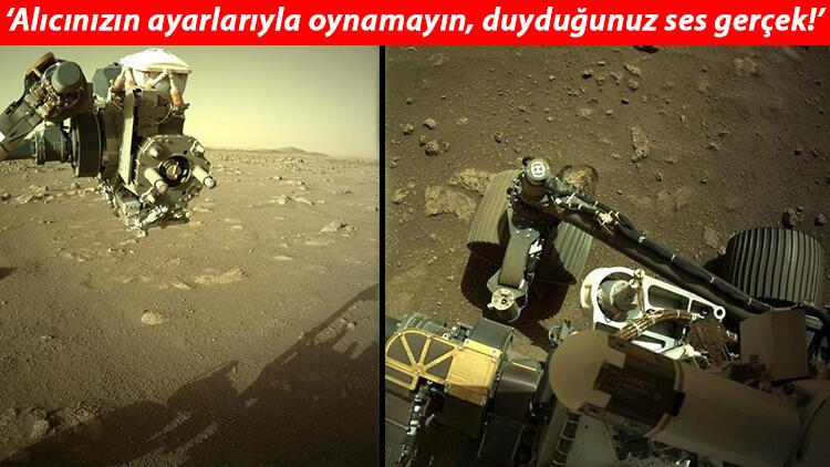 NASA paylaştı! Perseverance uzay aracı Mars'ın seslerini yolladı!