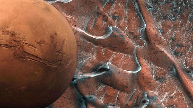 NASA yayınladı: Mars'tan yeni görüntü
