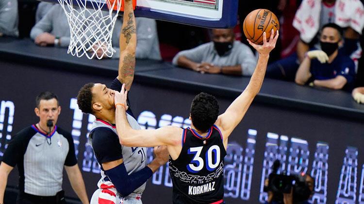 NBA'de gecenin sonuçları: Furkan Korkmaz 13 sayı attı, 76ers seriyi 2-0'e getirdi