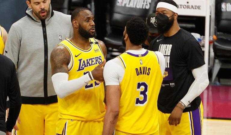 NBA'de Gecenin Sonuçları: Son şampiyon Lakers, Suns'ı devirdi ve seriyi 1-1'e getirdi