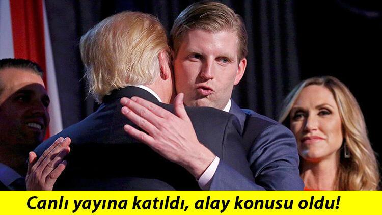 Oğul Trump'tan tuhaf açıklama! 'Sokakta bana sarılıyorlar çünkü….'
