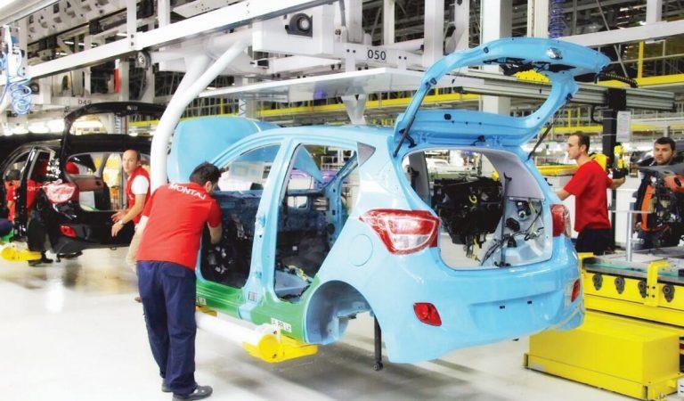 Otomotiv üretimi yükselişte