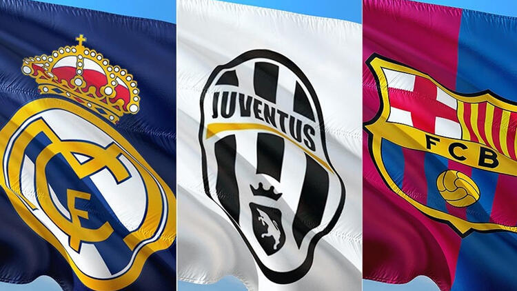 Real Madrid, Juventus ve Barcelona kulüpleri, UEFA'ya karşı ortak açıklama yaptı