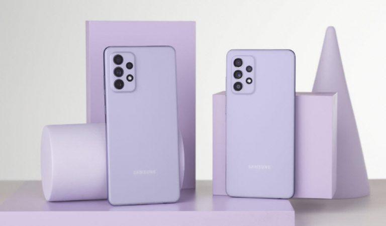 Samsung Galaxy A52 ve Galaxy A72 tanıtıldı