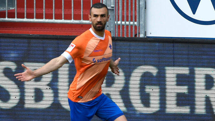 Serdar Dursun, Almanya'da Darmstadt formasıyla gol kralı oldu