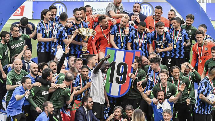 Serie A'da şampiyon Inter, Udinese'yi 5-1 yenerek sezonu tamamladı