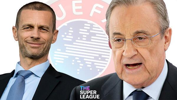 Son dakika: Avrupa Süper Ligi'ne katılan takımlara men cezası yolda! UEFA…