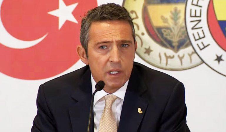 Son Dakika: Fenerbahçe Başkanı Ali Koç adaylığını resmen açıkladı! Emre Belözoğlu devam edecek mi?