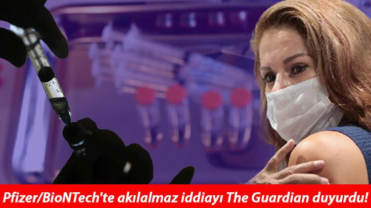 Son dakika haberler: The Guardian duyurdu: Pfizer/BioNTech aşısını kötülesinler diye para teklif edilmiş!