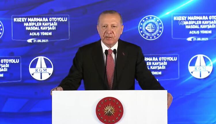 Son dakika… Kuzey Marmara Otoyolu tamamlandı… Cumhurbaşkanı Erdoğan'dan önemli açıklamalar
