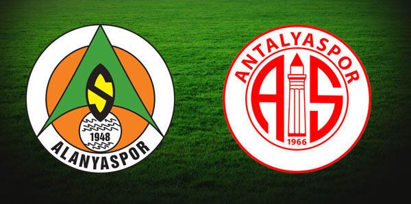 Süper Lig'in 30. haftasında Antalya derbisi heyecanı
