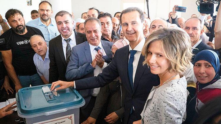 Suriye'de göstermelik seçim