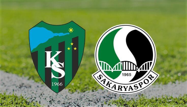 TFF 1. Lig'e son bilet hangi takımın olacak? Kocaelispor ile Sakaryaspor…
