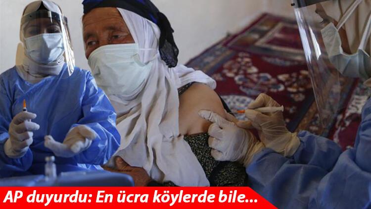 Türkiye'nin aşı ikna timleri dünya basınında… 'En ücra köylerde bile kapı kapı dolaşıyorlar!'