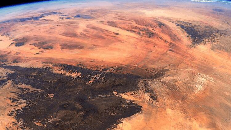 Uzaydan görüntülendi… İşte Dünya'daki Mars!