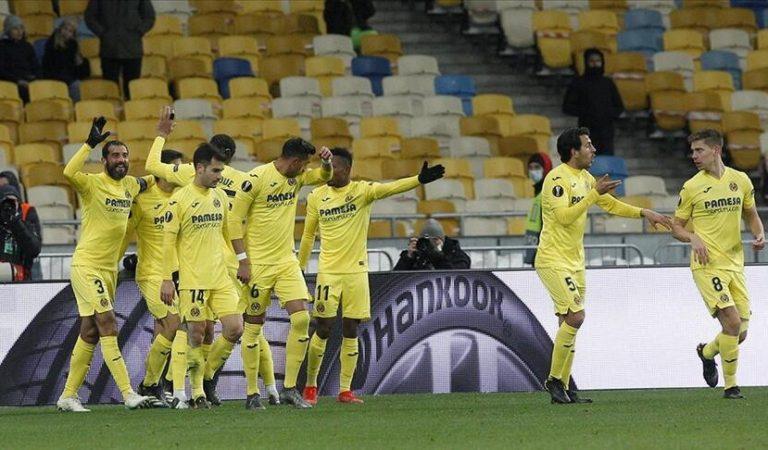 Villarreal, UEFA Avrupa Ligi finaline namağlup geldi
