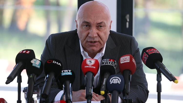 """Yılport Samsunspor Başkanı Yüksel Yıldırım: """"Temiz bir futbol istiyoruz"""""""