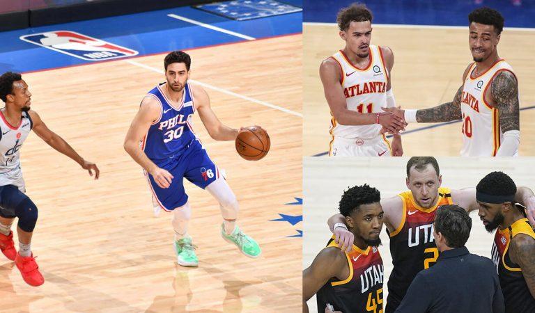 NBA'de Gecenin Sonuçları: 76ers, Hawks ve Jazz konferans yarı finallerine yükseldi