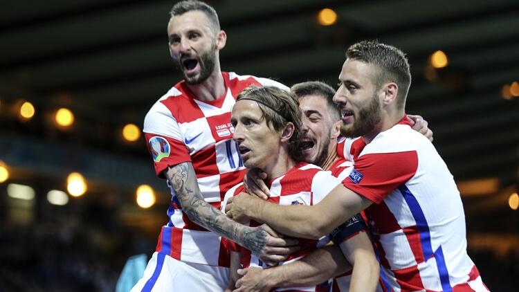 Son Dakika: Hırvatistan 3-1 İskoçya / Maç sonucu